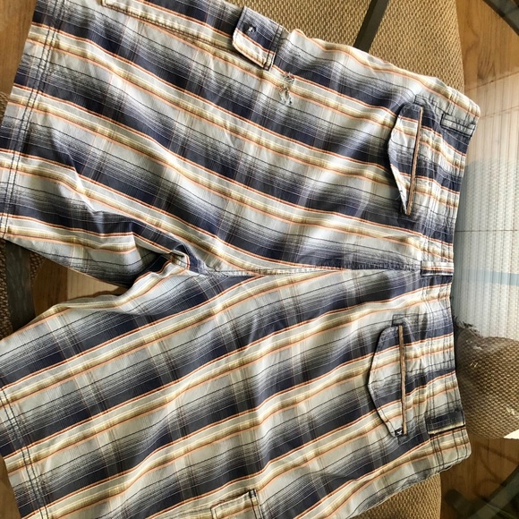 Tommy Bahama Pants - Tommy Bahama Bermuda shorts in Blue stripes